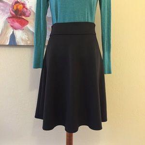 ASOS A-Line Black Skirt - US 6