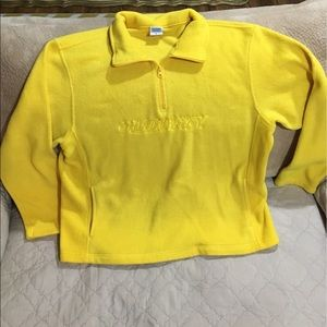 Old Navy excellent condition Yellow Fleece Jacket
