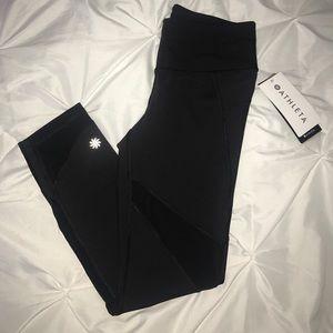 Athlete stealth mesh black pants