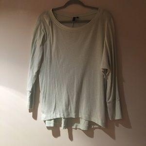Mint Green 3/4 Shirt