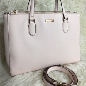 🌸OFFERS?🌸Kate Spade Large Blush Pink Satchel