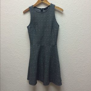 Gap Macy patterned fit and flare sleeveless dress