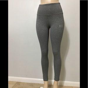Under Armour High Rise Leggings Pants Gray M