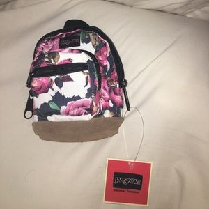 Mini Floral Jansport Backpack from Journey's