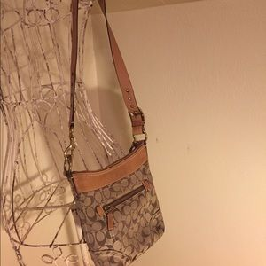 Over the shoulder Coach purse