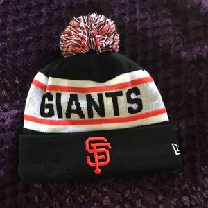 San Francisco Giants Pom Beanie