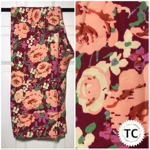 Floral TC leggings LuLaRoe