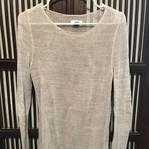 Old Navy cotton loose-knit sweater