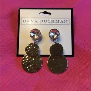Dana Buchman Gold stud earrings