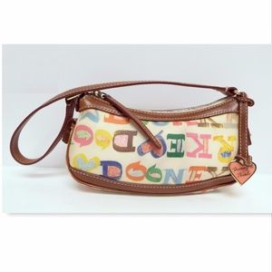 DOONEY & BOURKE Multi Color Monogram Bag