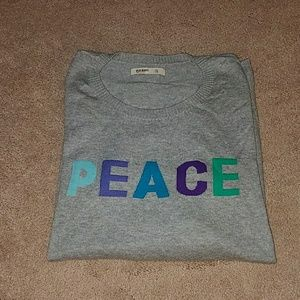 Old Navy Peace sweater