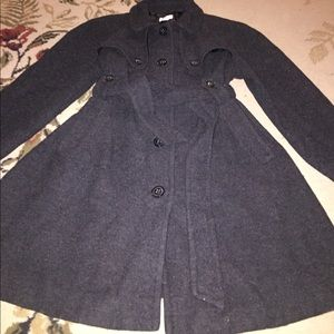 Size small motherhood maternity part wool coat