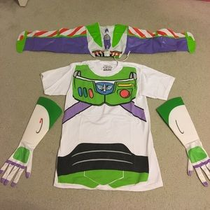 Buzz light year costume! With woody accessories