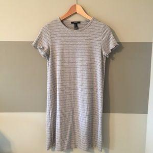 NWOT Striped Ribbed Dress