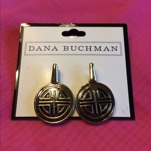 Dana Buchman gold earrings
