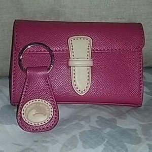 Dooney & Bourke mini makeup pouch