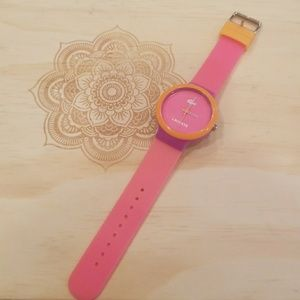 Lacaste Pink/Orange Watch