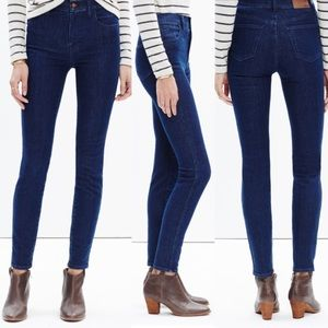 """Madewell 27 High Rise Skinny Jeans Long 36"""" Inseam"""