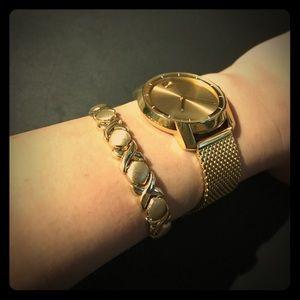 Jewelry - ✨14K Italian Gold X Link Bracelet, wt of 15 g