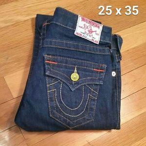 """EUC True Religion """"Billy"""" Skinny Jeans 25 x 35"""