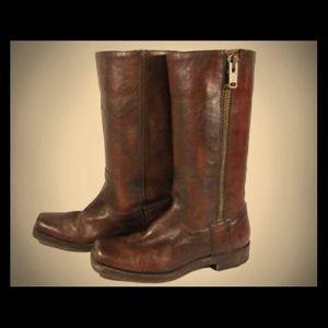 Frye Heath Moto Boots size 7
