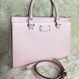 🌸OFFERS?🌸Kate Spade Baby Pink Large Satchel