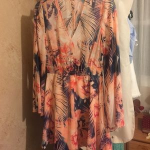 Floral print Guess Dress with sleeves