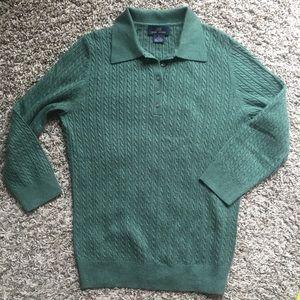 Brooks Brothers silk Cashmere sweater