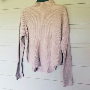 Faded Pink Pullover Sweater