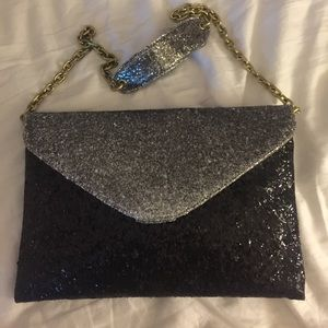 Jcrew clutch/shoulder bag