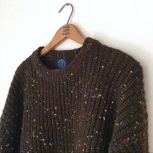 Vintage Gap confetti wool sweater