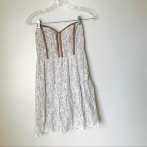 Pins and needles Lace dress  urban outfitters