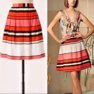 Anthropologie We Love Vera Licorice Lanes Skirt 2