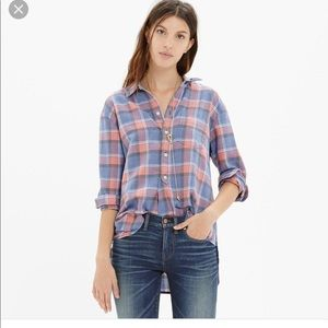 Rivet and Thread flannel Small (Madewell)