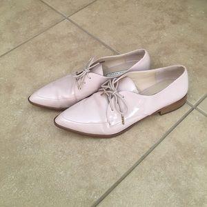 Pastel pink oxfords