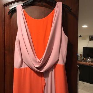 A evening dress