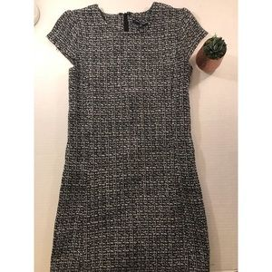 One Clothing Black/White Knit Dress- Small