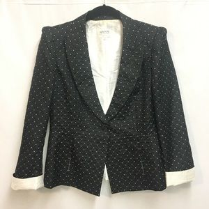 Armani Collection black and white blazer