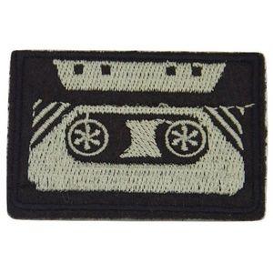 Accessories - Cassette Tape Patch, Retro Iron On Badge, Applique