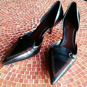 Cole Haan kitten heel Country shoes