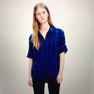 Madewell Courier Shirt in Buffalo Check