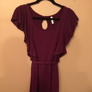 Xhilaration purple dress