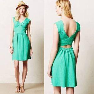 Anthropologie Matilde Dress in Green