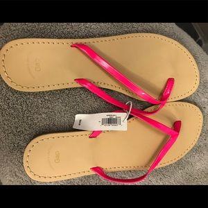 Gap flip flops, size 7