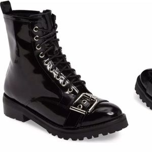 Jeffrey Campbell Anthropologie Slam Military boot
