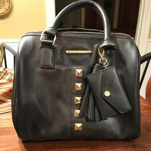 Steve Madden black satchel