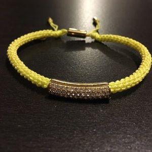 Neon Green Michael Kors Bracelet