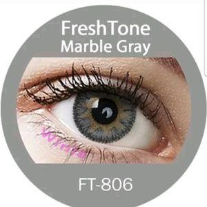 Freshtone Marble Gray Eye Color with FREE Case..
