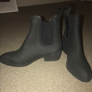 Black Jeffrey Campbell Ankle Boots