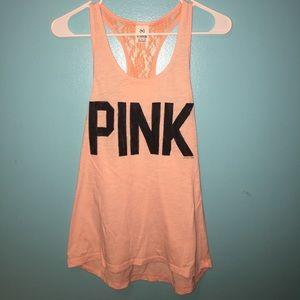 VS PINK Peach Tank Top